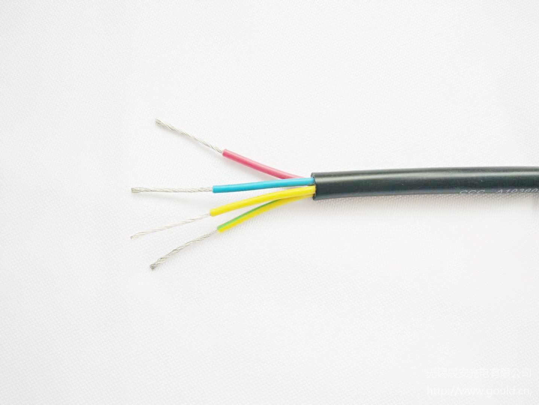 辰安电缆|铜芯聚氯乙烯绝缘软护套电线rvv